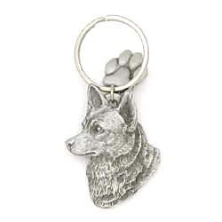 Australian Cattle Dog Keychain