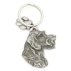 German Wirehaired Pointer Keychain