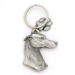 Greyhound Keychain