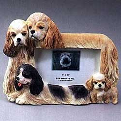 Cocker Spaniel Picture Frame