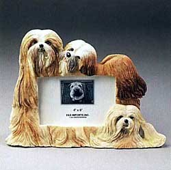 Lhasa Apso Picture Frame