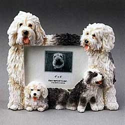 Old English Sheepdog Picture Frame