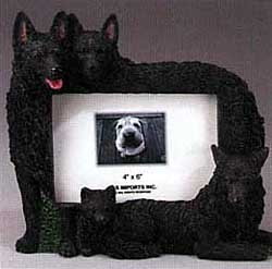 Schipperke Picture Frame
