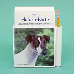Smooth Fox Terrier Hold-a-Note
