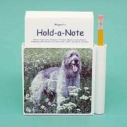 Irish Wolfhound Hold-a-Note