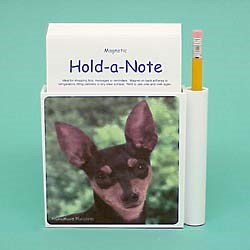 Miniature Pinscher Hold-a-Note