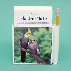 Cockatiel Hold-a-Note