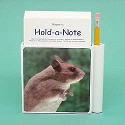Hamster Hold-a-Note