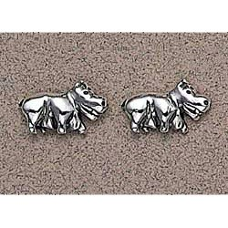 Hippopotamus Earrings