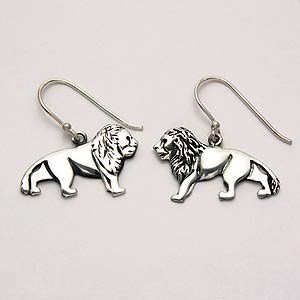 Lion Earrings