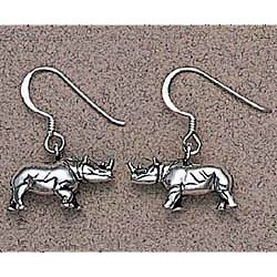 Rhinoceros Earrings