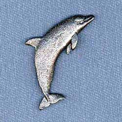 Dolphin Pin