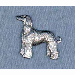 Afghan Hound Pin