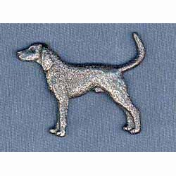 Coonhound Pin