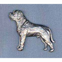 Mastiff Pin
