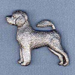 Portuguese Water Dog Pin