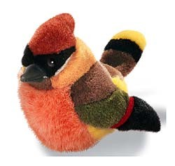 Cedar Waxwing Plush