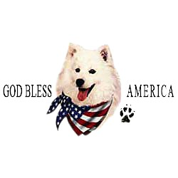 American Eskimo Dog T-Shirt - American Dog