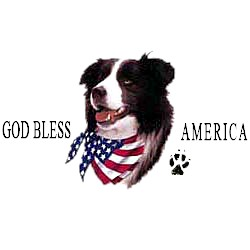 Border Collie T-Shirt - American Dog