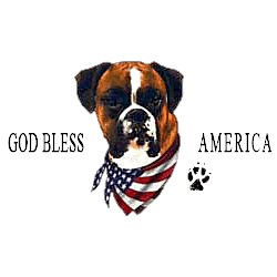 Boxer T-Shirt - American Dog