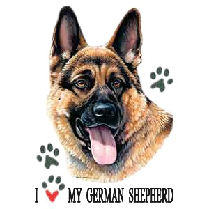 German Shepherd T-Shirt - American Dog