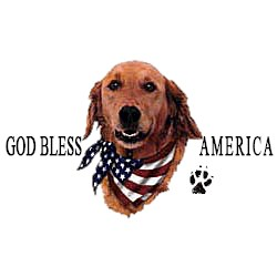 Golden Retriever T-Shirt - American Dog