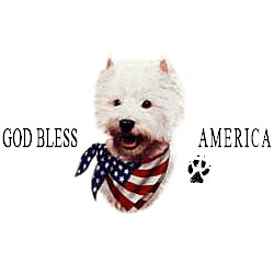 West Highland Terrier T-Shirt - American Dog