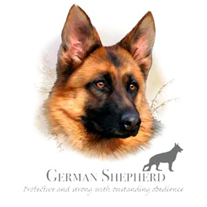 German Shepherd T-Shirt - Collage