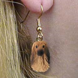Afghan Hound Earrings