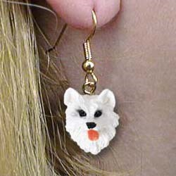American Eskimo Dog Earrings