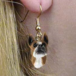 Boxer Earrings