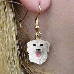 Kuvasz Earrings