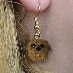Norfolk Terrier Earrings