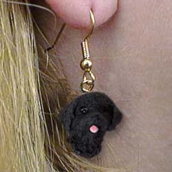 Portuguese Water Dog Earrings