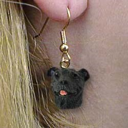 Staffordshire Bull Terrier Earrings
