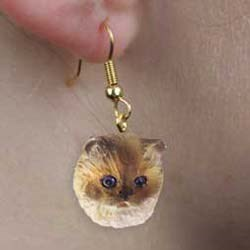 Ragdoll Cat Earrings