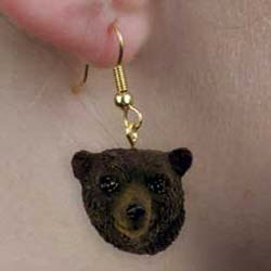 Black Bear Earrings