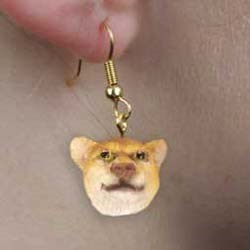 Cougar Earrings