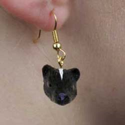 Skunk Earrings