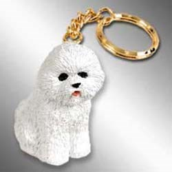 Bichon Frise Keychain