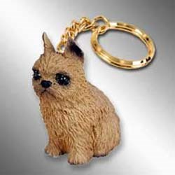 Brussels Griffon Keychain