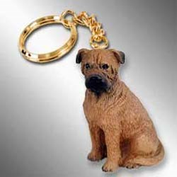Bullmastiff Keychain