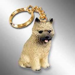 Cairn Terrier Keychain