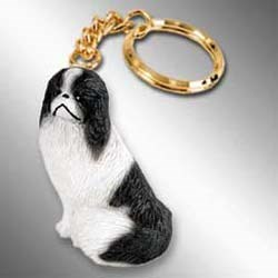 Japanese Chin Keychain