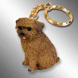Norfolk Terrier Keychain