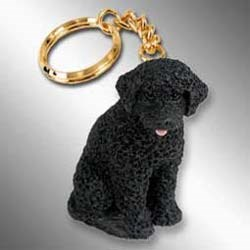 Portuguese Water Dog Keychain