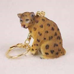 Leopard Keychain