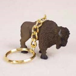 Buffalo Keychain
