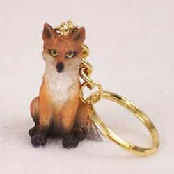 Fox Keychain
