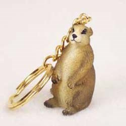 Prairie Dog Keychain